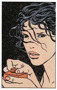 Ilustración perteneciente al cómic erótico El Clic de Milo Manara