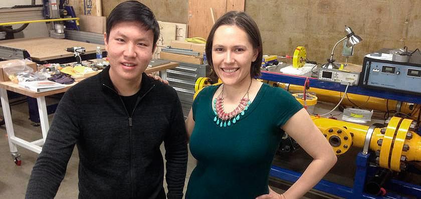 Liz Klinger y James Wang creadores del vibrador inteligente Smartbod